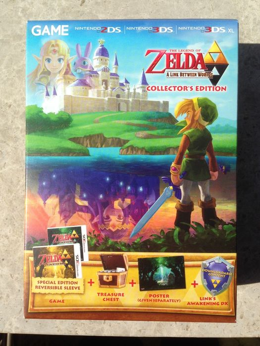 The Legend of Zelda: A Link Between Worlds Collector's ...