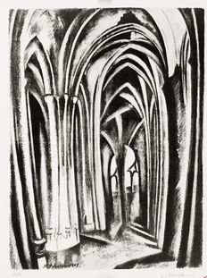 Robert Delaunay - Saint-Séverin