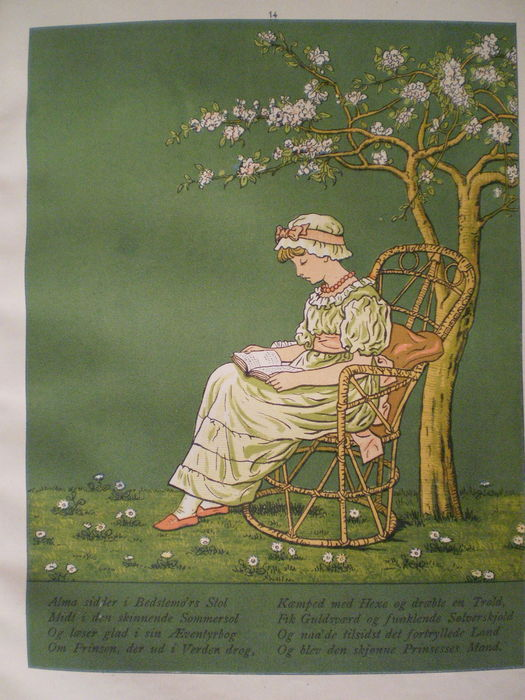 Kate Greenaway; Lot with 3 publications of and about this famous ...