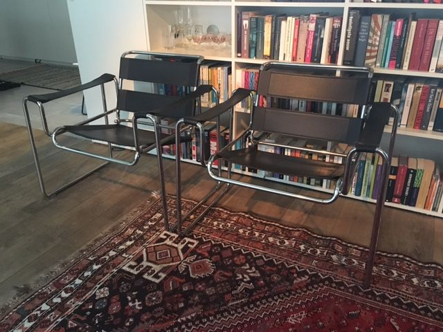 Marcel Breuer Chaise Wassily Copie 2 Pices
