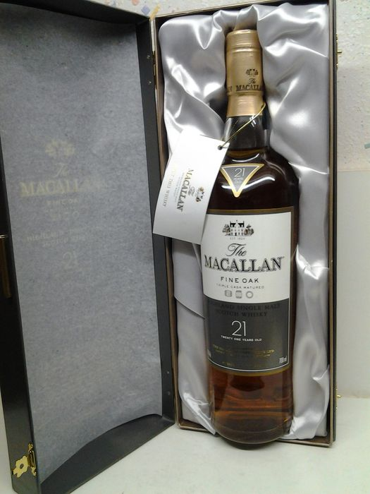 Macallan 21 years old Fine Oak - Original bottling - 70cl