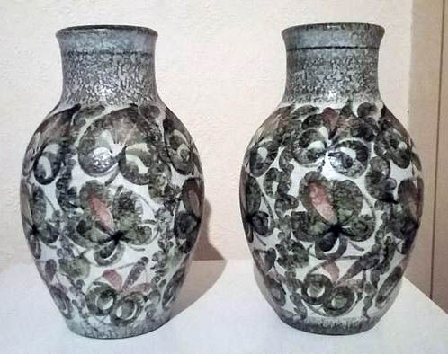 Pair Of Vases Vintage Denby Made In England Stoneware Catawiki