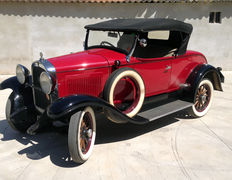 Whippet - 98 Four Roadster - 1929