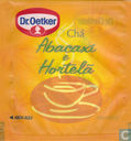 Tea bags and Tea labels - Dr. Oetker - Abacaxi e Hortelã