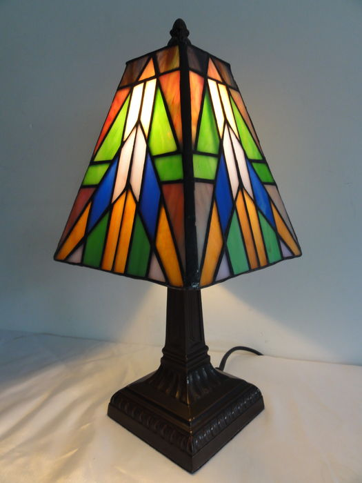 Tiffany Style Table Lamp Art Deco Catawiki