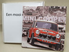 Mini Cooper print, released by F. Breeman - canvas on frame - 25 x 25 cm
