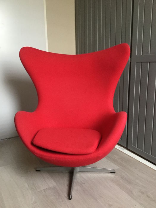 Arne jacobsen for fritz hansen after 1980s egg chair for 1980s chair design