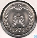 "Algeria 1 dinar 1972 ""F.A.O."" (legend touches the inner circle)"