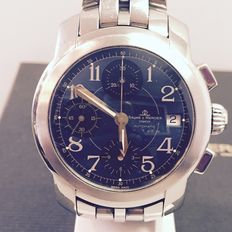 Baume & Mercier cape country MVO45216 chronograph steel with blue dial - with box.