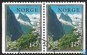 Briefmarken - Norwegen - Landschaften