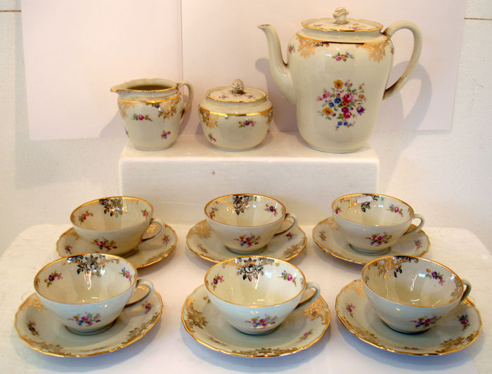 Verrassend Seltmann Weiden Bavaria - servies Rose 1811 - porselein - Catawiki XQ-47