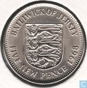 Jersey 5 new pence 1968