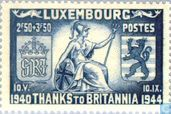 Postage Stamps - Luxembourg - Tribute to Great Britain