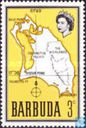1968 map of Barbuda