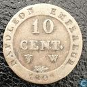 France 10 centimes 1809 (W)
