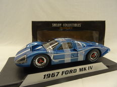 Shelby Collectibles - Scale 1/18 - 1967 Ford MK IV - KCoour Blue