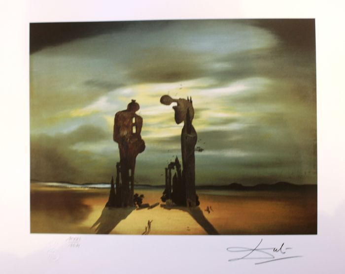 Salvador Dali (after) - Archaeological reminiscence