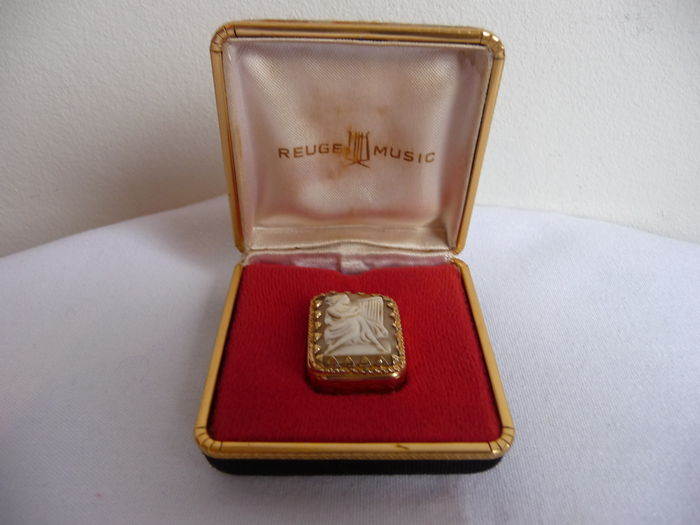 Reuge music box pendant c 1950s swiss catawiki reuge music box pendant c 1950s swiss aloadofball