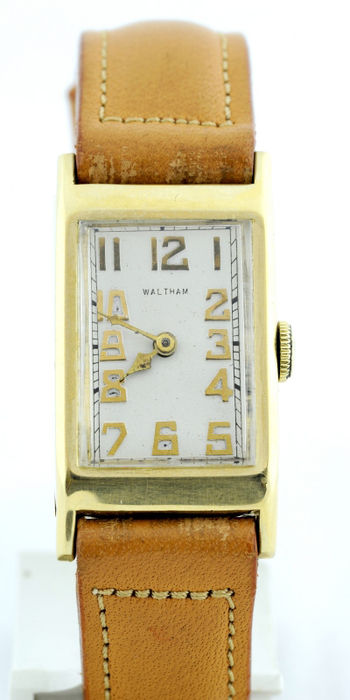 Waltham (USA) – Wristwatch Men's Watch – Circa 1930.