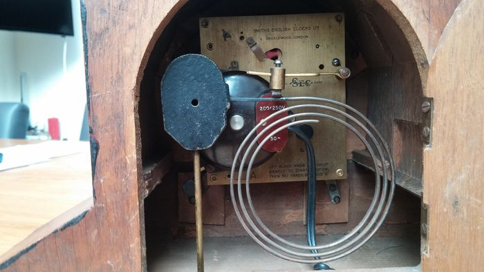 Prime English Electric Clock Pendulum Clock Smith Electric Circa 1930S Wiring Database Numdin4X4Andersnl
