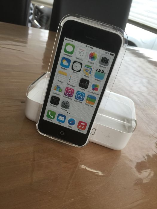 Apple IPhone 5C White 32GB, complete in box - Catawiki
