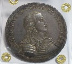 Kingdom of Sicily – 30 ounce Tarì 1791 – Ferdinando III of Bourbon – silver