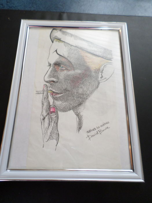 David Bowie - One and only unique and lovely sketch David