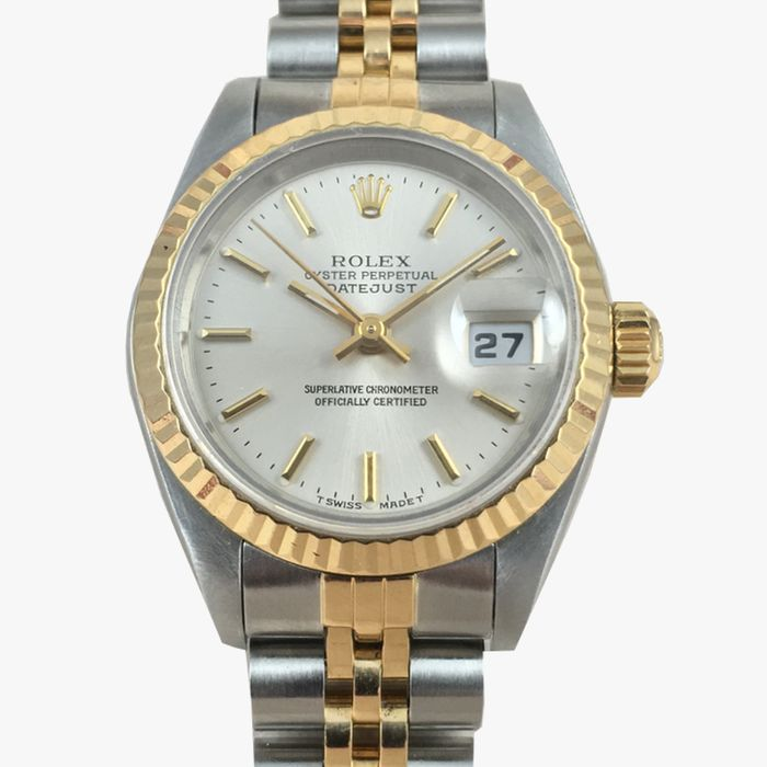 rolex oyster perpetual datejust damenuhr 1990 catawiki. Black Bedroom Furniture Sets. Home Design Ideas