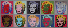 Andy Warhol (after) - Ten Marilyns, 1967