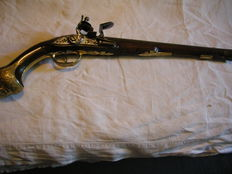 Horse pistol 18th century probably German