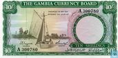 Gambia 10 Shillings (1965-70)