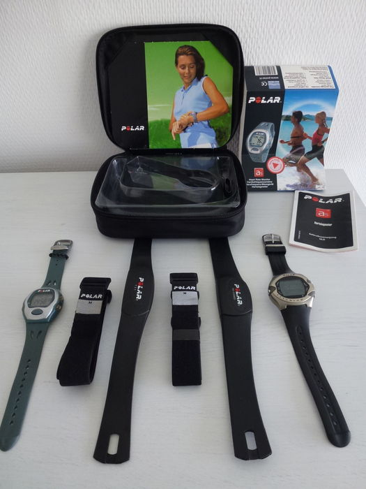 2 X Polar M71ti A5 Sport Watch With Heart Rate Monitor 21th