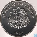 "Liberia 2 dollars 1983 ""F.A.O. - World Fisheries Conference"""