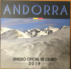 Andorra - Year set Euro coins 2014