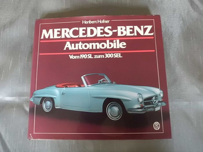 Book Mercedes Benz,vom 190SL zum 300SEL - 167 pages 26 x 21cm
