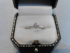 Diamond Solitaire Ring – 0.4 ct - H/I1