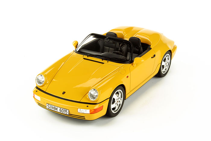 GT Spirit - Scale 1/18 - Porsche 911 Type 964 Speedster - Limited 1500 pieces. - Colour Yellow