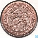 Coins - the Netherlands - Netherlands 2½ censt 1941