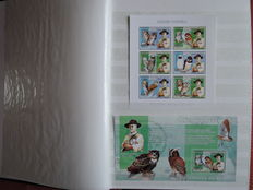 Democratic Republic of the Congo - 115 official blocks and sheets from 2006, imperforated