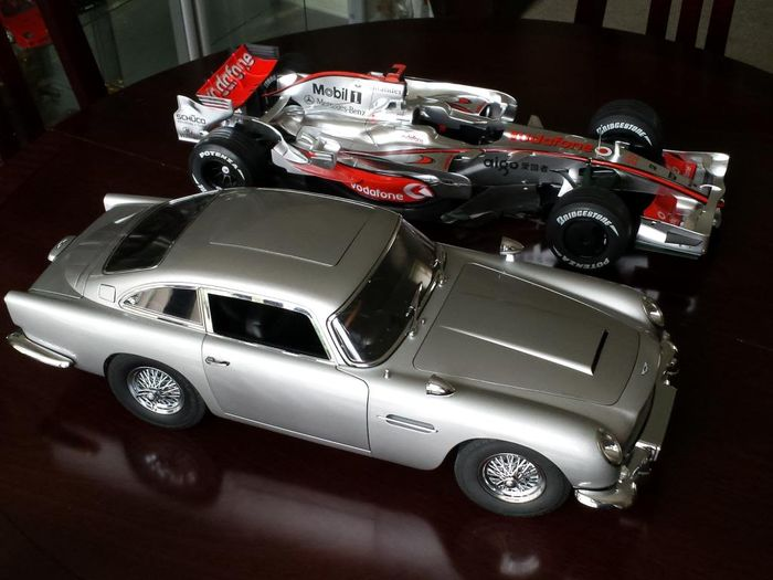 Aston Martin DB Scale Model Kit Build Your Own Eagle - Build your own aston martin