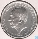 "Monnaies - Suède - Suède 5 kronor 1966  ""100th Anniversary of Constitution Reform"""