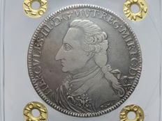 Duke of Modena and Reggio – Tallero 1796 Ercole III d'Este uncommon – Silver