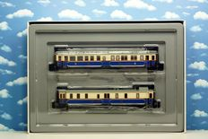 Märklin H0 - 2881 - Imperial court train Wilhelm II, 1 set with 2 different carriages 8 9265