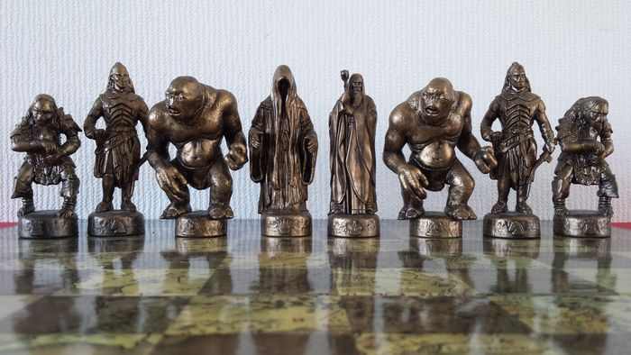 The Lord Of The Rings Chess Game The Fellowship Of The