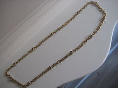14 kt gold men's necklace