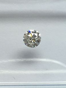 Diamante a taglio brillante da 0,15 ct H VVS2