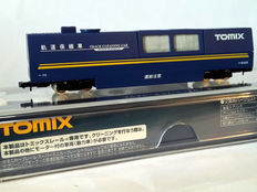 Tomix N - 6425 - Track Cleaning Car (blue)