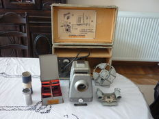 Complete slide viewer with Som Berthiot lens - 2nd half of the 20th century