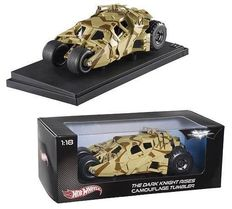 Batman The Dark Knight Rises - HotWheels - Scale 1/18 - Camouflage Tumbler