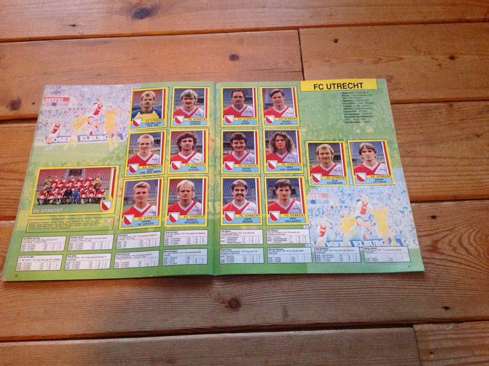 Panini netherlands eredivisie first division voetbal for Division 2 table 98 99